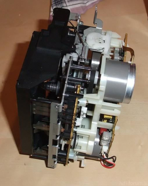 TC-WR735s Laufwerk seite