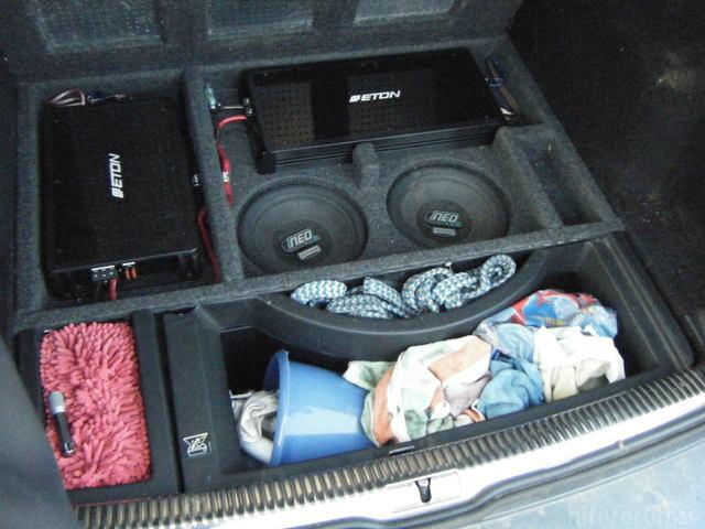 Mein Kofferraumausbau