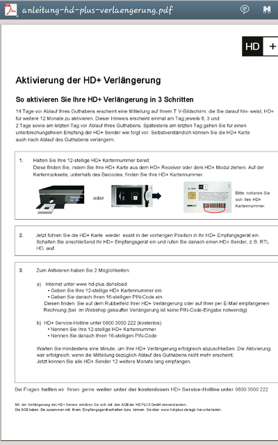 hd+ karte aktivieren Nummer HD+ Karte F Model, Samsung   HIFI FORUM