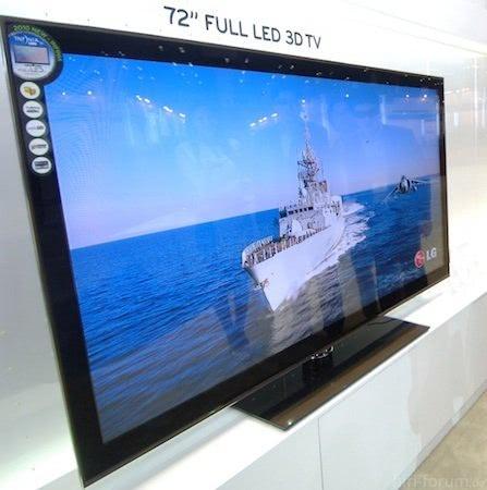 2011 New LG 72Inch LZ9700 3D TV