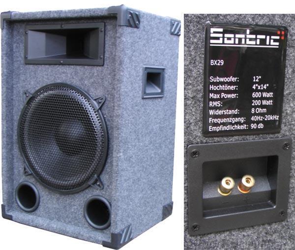 NEUE Musikboxe Mit 600 Watt 2