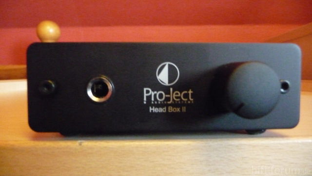 Pro-Ject Headbox II Front