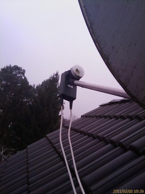 LNB Auf Dach
