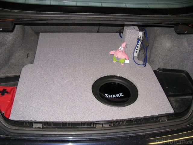 Kofferraum E46 Limousine