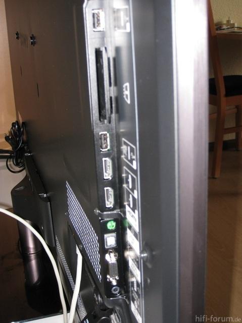 Detailansicht Anschlusse 1 Sony 55hx925 80399