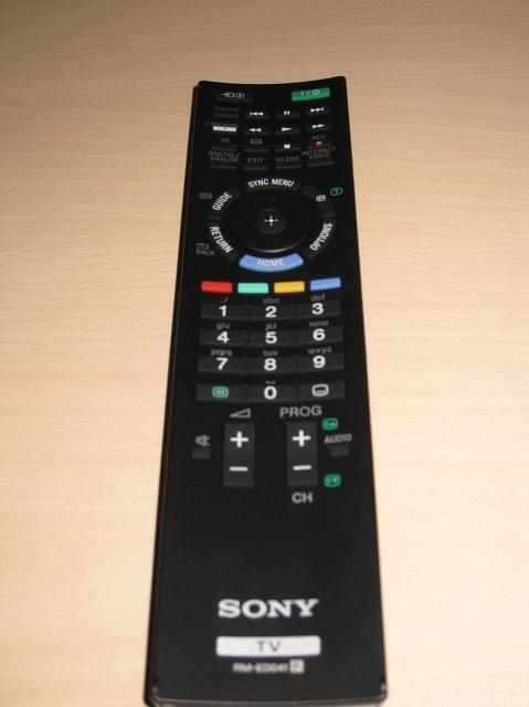 Remote Sony 55hx925 80395