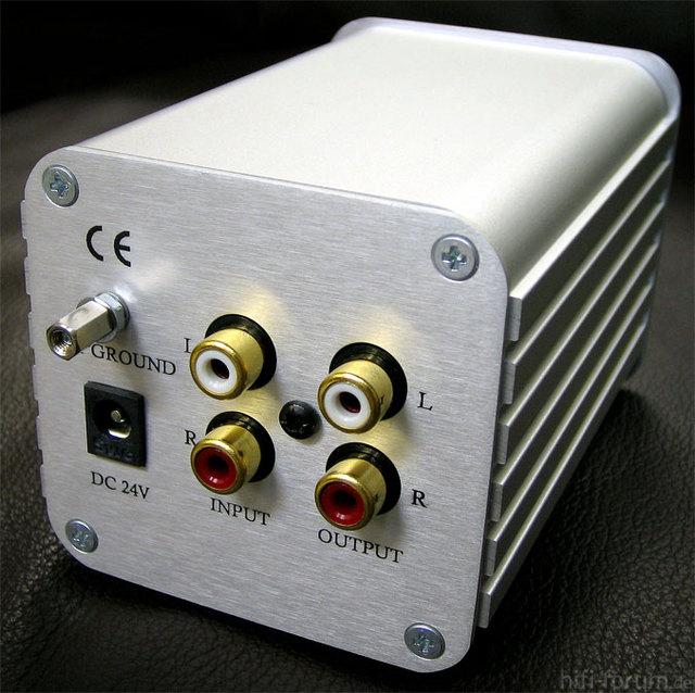 GSP Audio Gram Amp 2 SE - Rückseite