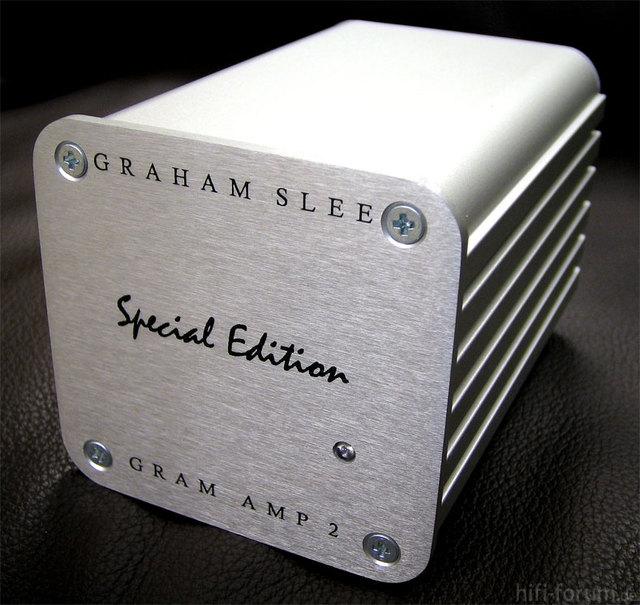 GSP Audio Gram Amp 2 SE - Vorderseite