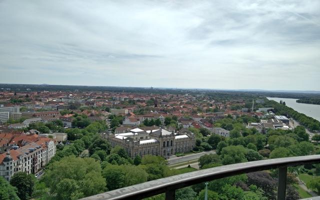 Hannover vom Neuen Rathaus gesehen