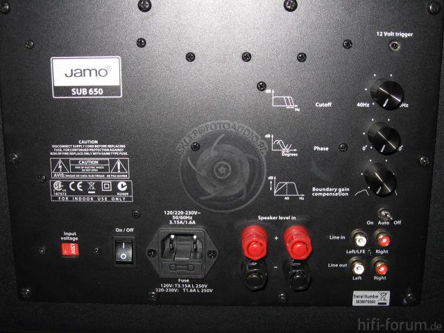 Jamo SUB 650