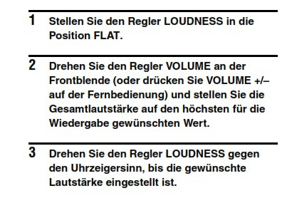 Loudness Yamaha