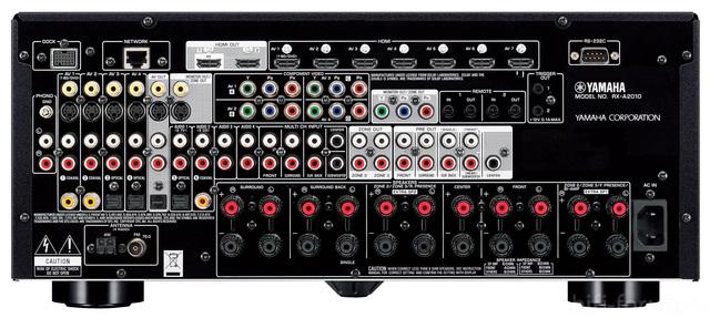 Yamaha Aventage Rx A2010 Back