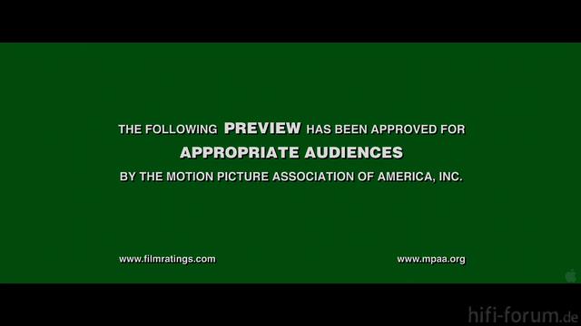 Grünes Trailertestbild