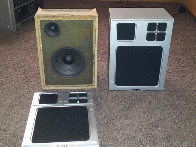 Alte Lautsprecher