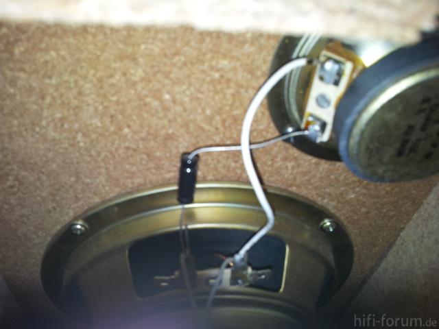 Verbindung Lautsprecher