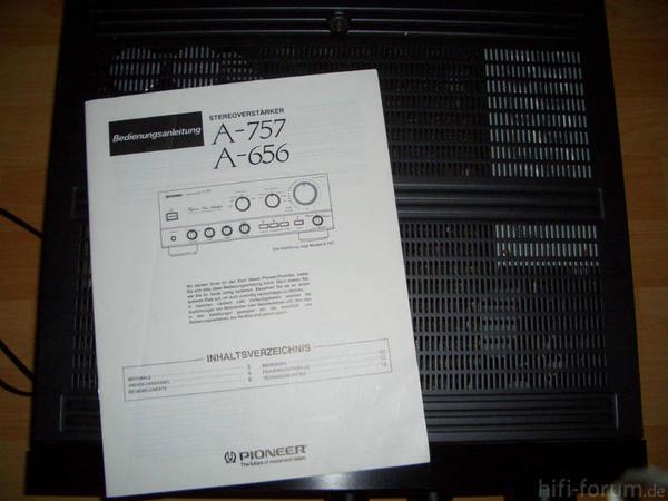Pioneer A 656 Foto Bild 57566326