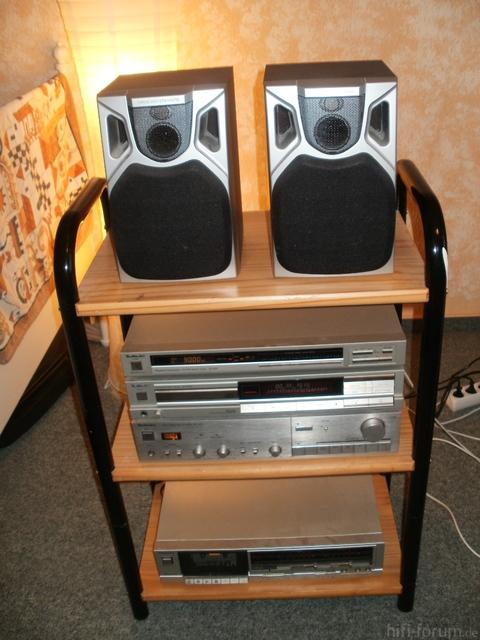 Technics Stereoanlage SU-V2X Mit Boxen