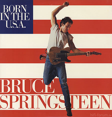 1Bruce Springsteen Born In The USA 64774