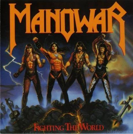 Manowar Fighting The World 460 100 460 70