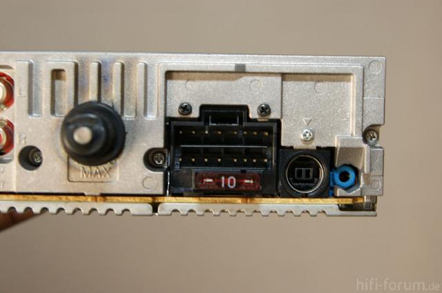 Rückseite Sony DSC F5550
