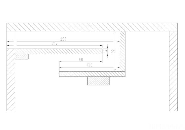 Refelxkanal 75 GDN Zeichnung
