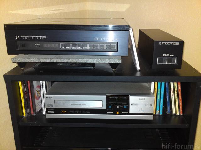 Micromega Cd F1 Premium Und Duo Bs2 Mit Philips Cd 104
