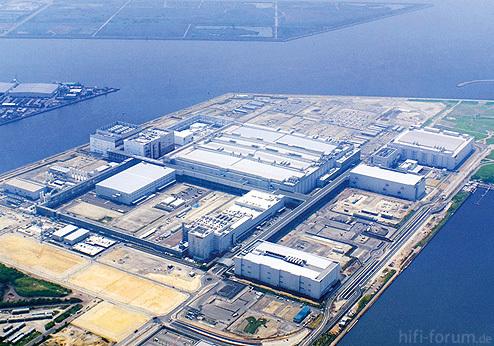 Sharp 10G Fabrik Sakai