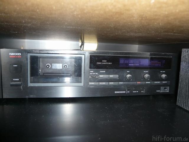 Nikko-D600 3HEAD Stereo Cassetten Deck