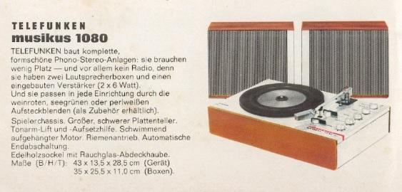 Telefunken Musikus 1080