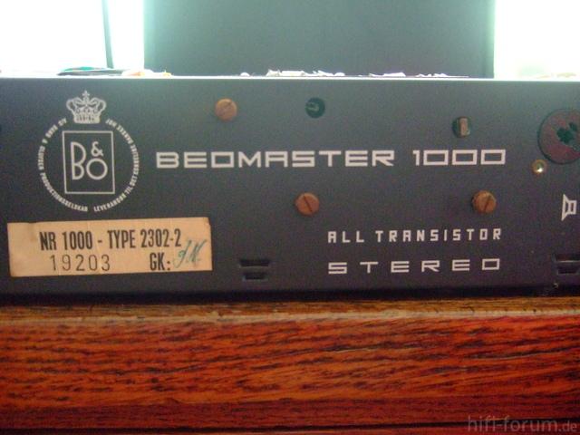 Beomaster 1000 Rückseite 1