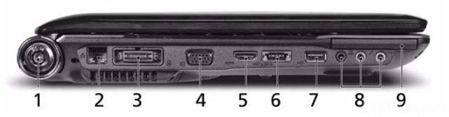Seitenansicht Laptop