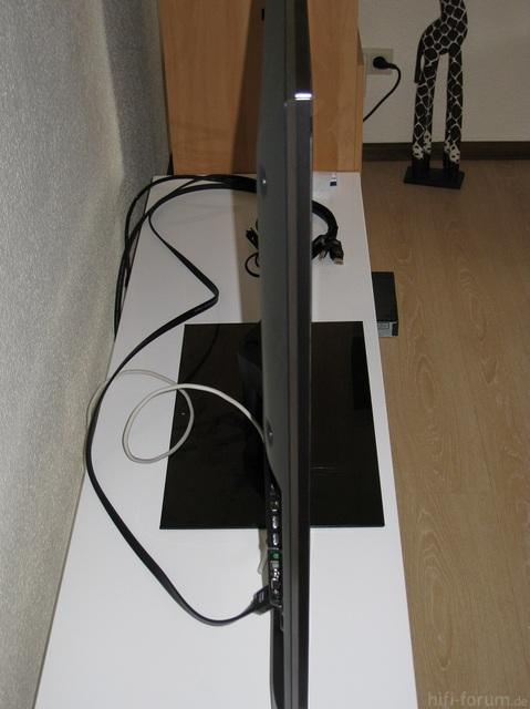 Fernseher (Seitenansicht) Sony 55HX925