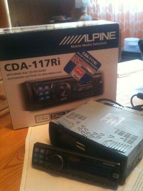 ALPINE CDA-117Ri