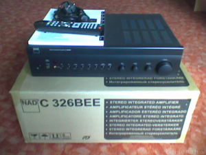NAD C 326BEE Front