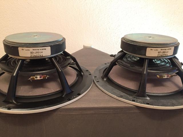 Ein Paar Seas FA22 RCZ Breitbänder, Selbstbau / DIY - HIFI ...