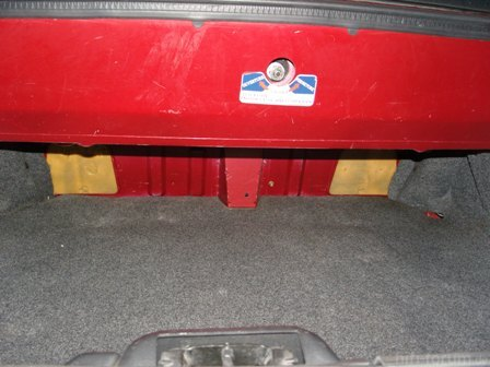 Kofferraum Rücksitz