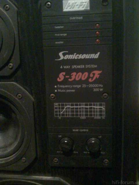 Sonicsound S-300 F