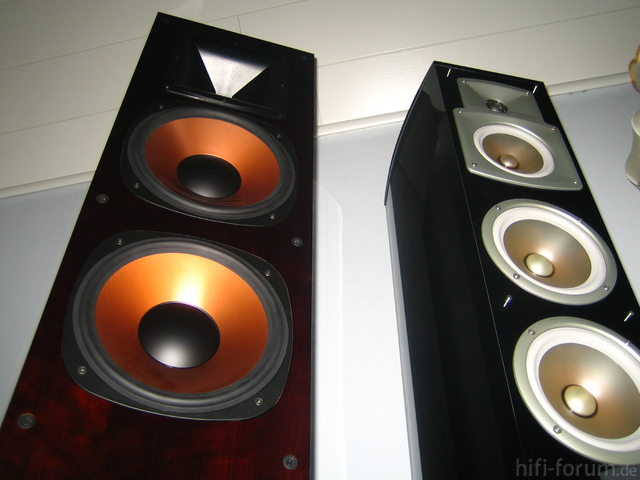 erfahrungsbericht klipsch rf 7 und yamaha ns 555 test. Black Bedroom Furniture Sets. Home Design Ideas