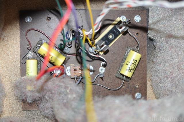 Frequenzweiche Bose 601 Serie I