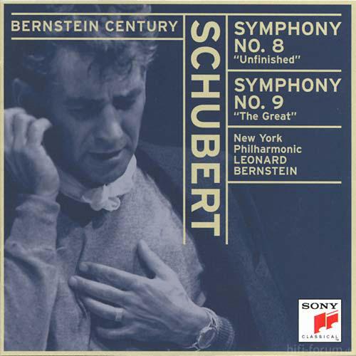 Schubert: Symphonies No. 8 & No. 9 (Bernstein Century)