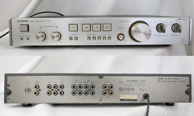 Luxman C-02 Preamplifier