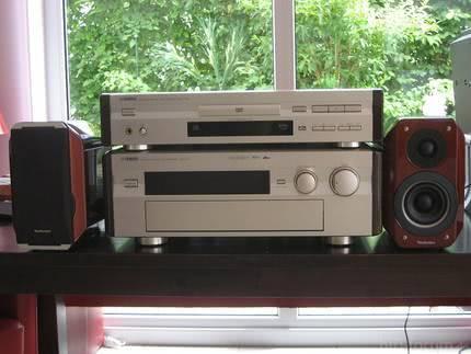 Yamaha DSP-A2 und Yamaha DVD-S795