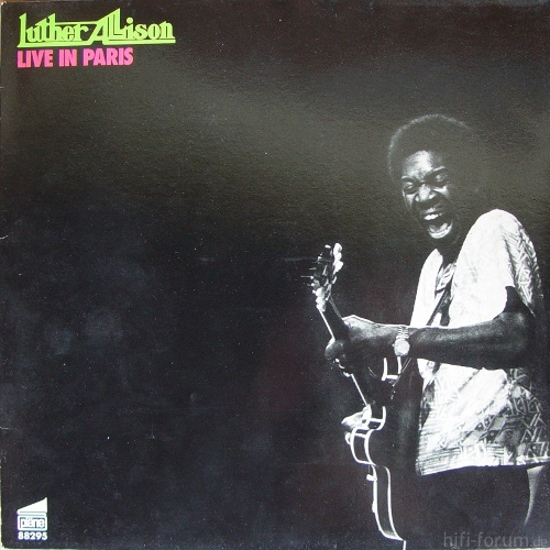 "Luther Allison ""Live In Paris"""