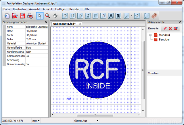 RCF Inside Logo