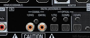 AVR 4311   Digitalanschlüsse
