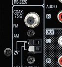 EL AVR 4311 Back (FM Buchse)