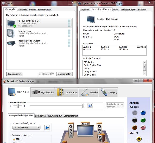 HDMI Sound Problem