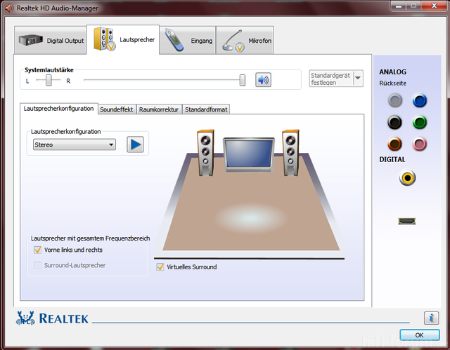 Realtek Manager Win7