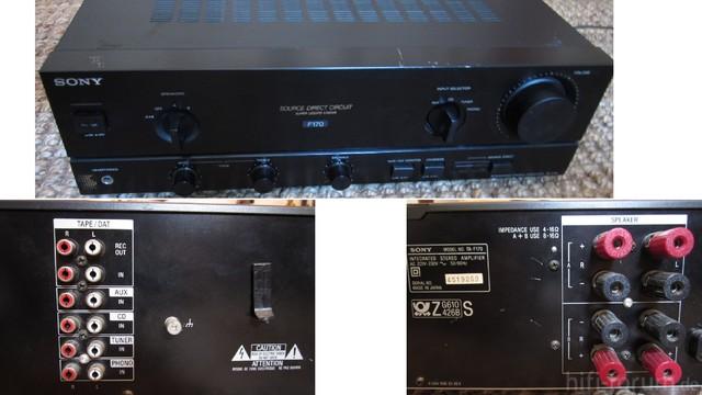 Sony Verstärker TA F170