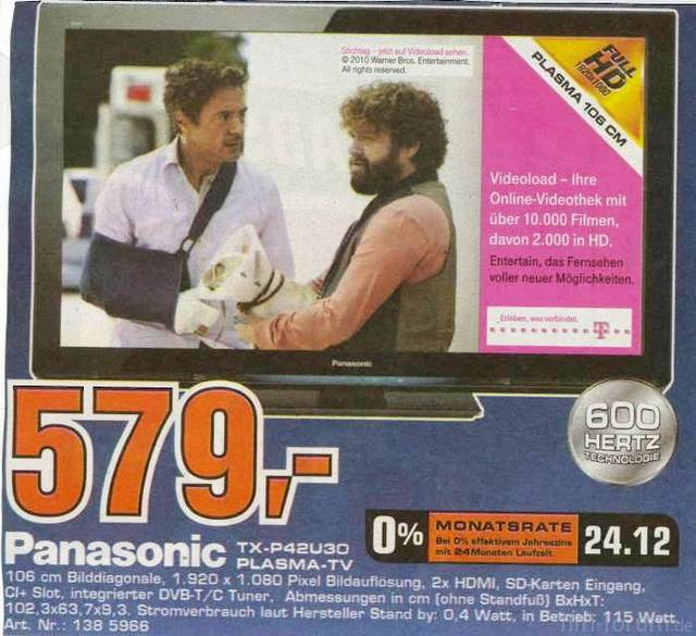Panasonic 42U30 Saturn